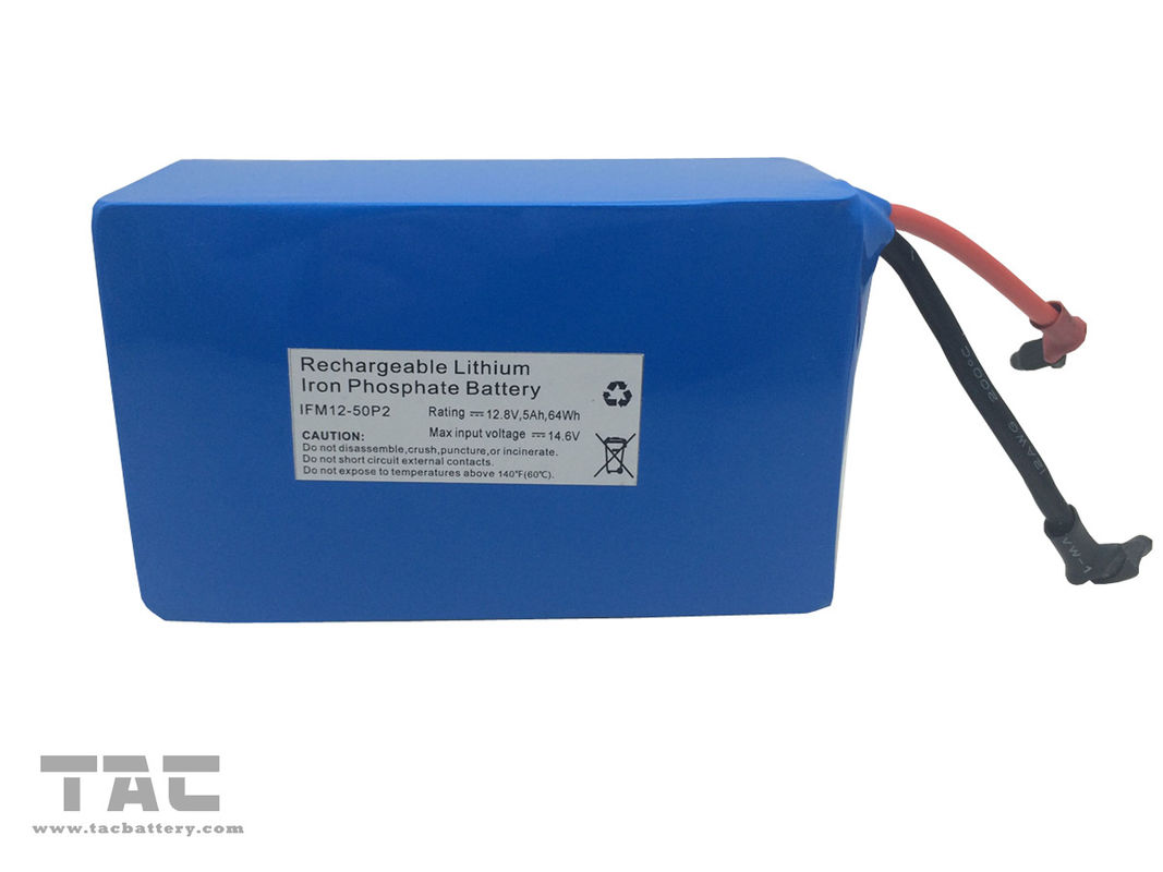 Home Solar Light Lithium Ion Battery Pack 12.8V 5AH 18500 With UL