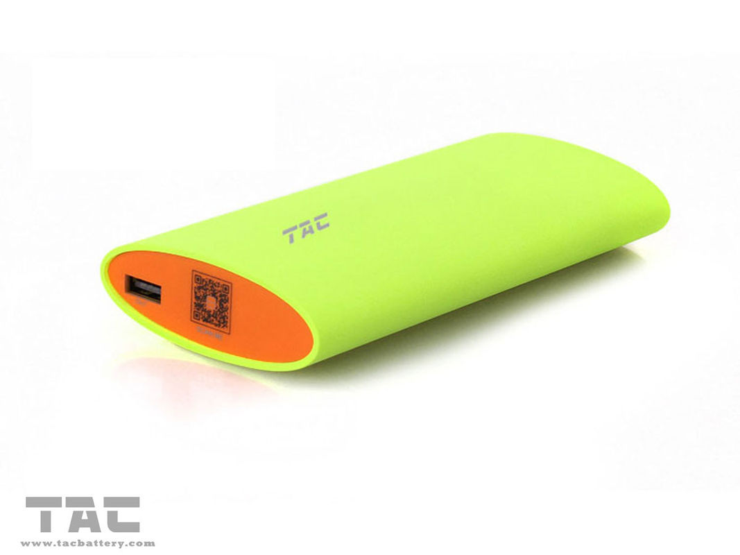 Green Or Purple External Battery Power Bank 5000mAh For Iphone 5 4S