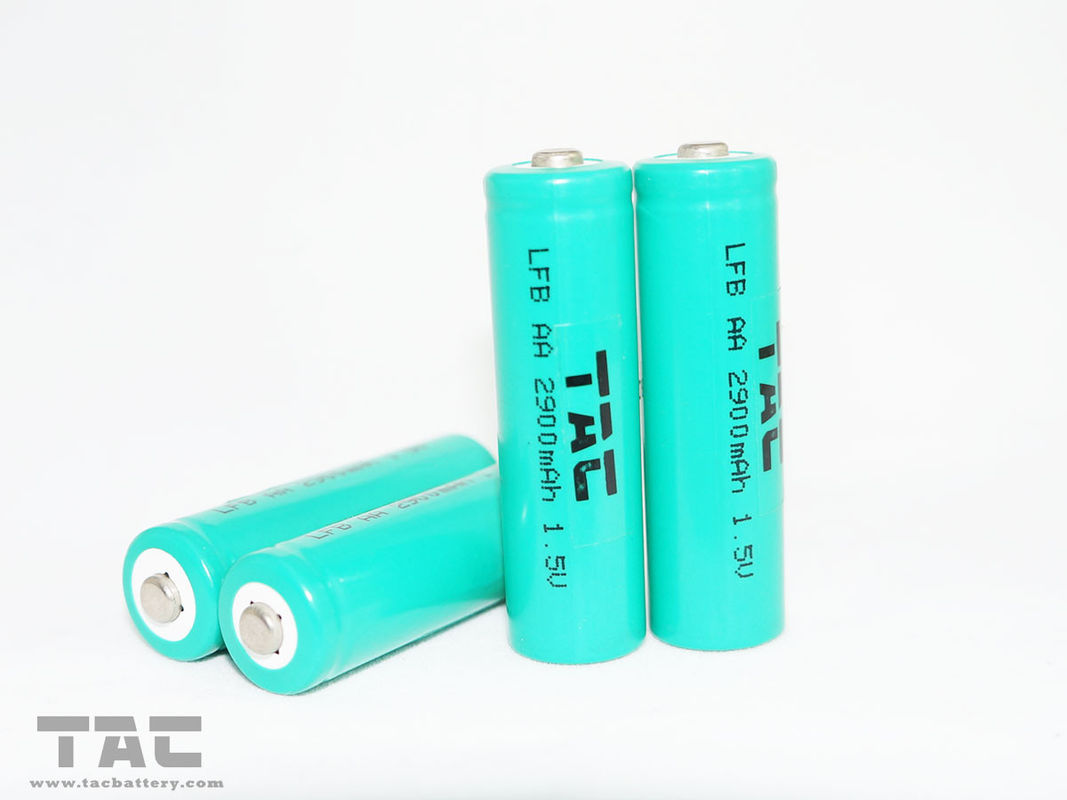 High Capacity 1.5V AA 2900mAh Lithium Iron Battery for digital cameras, mobile mouse