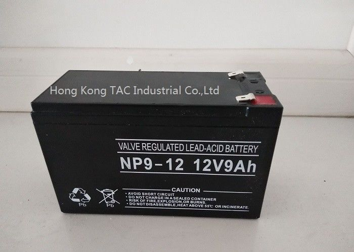 9.0ah Sealed Lead Acid Battery Pack For E Vehicle / Lifepo4 Battery Pack 12V